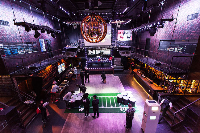 Nike Superbowl Event