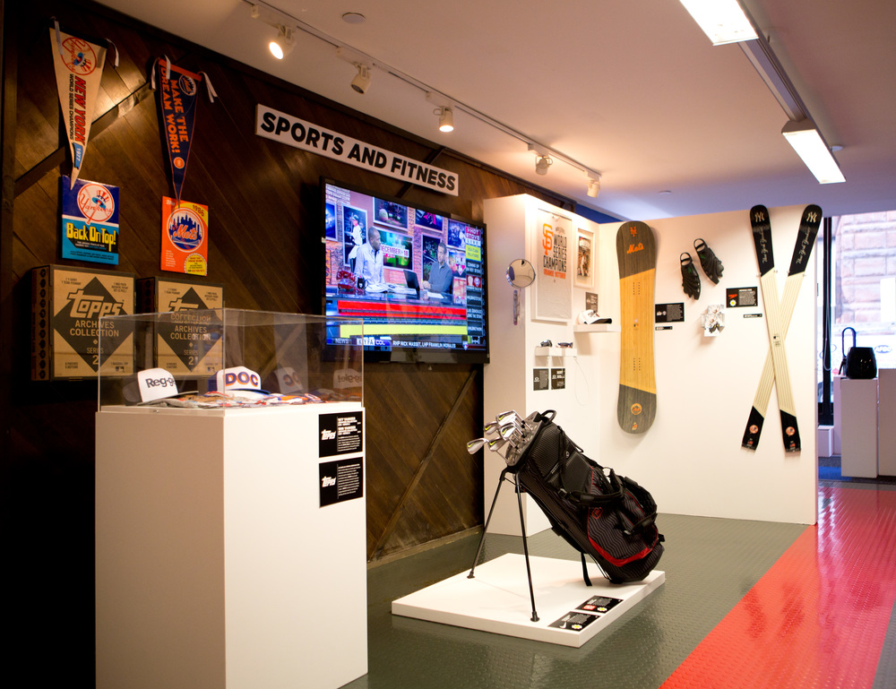 Mens Journal Pop Up Shop @ MLB Fan Cave