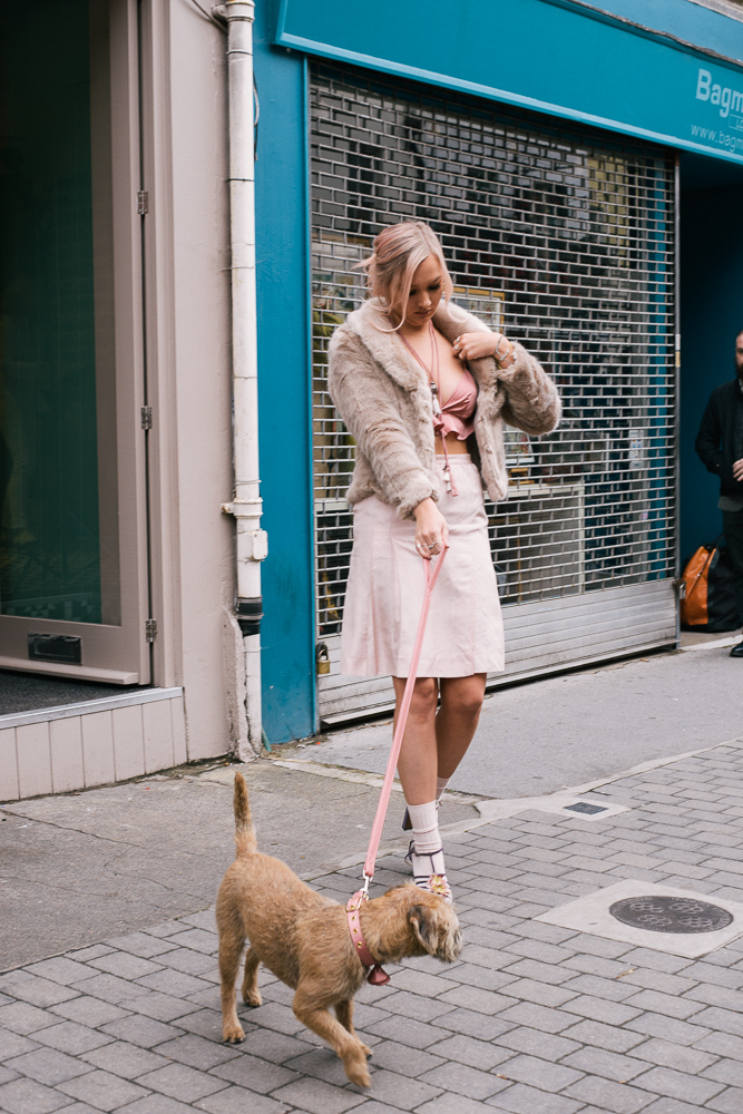 A shot from our most recent PP shoot, on the streets of London.