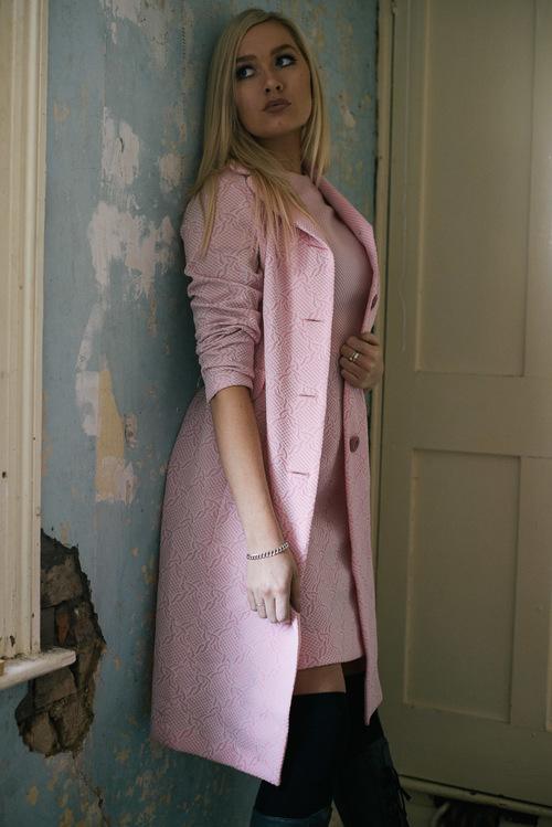 Pink Coat and Dress Set — The Pink Pantaloon Company