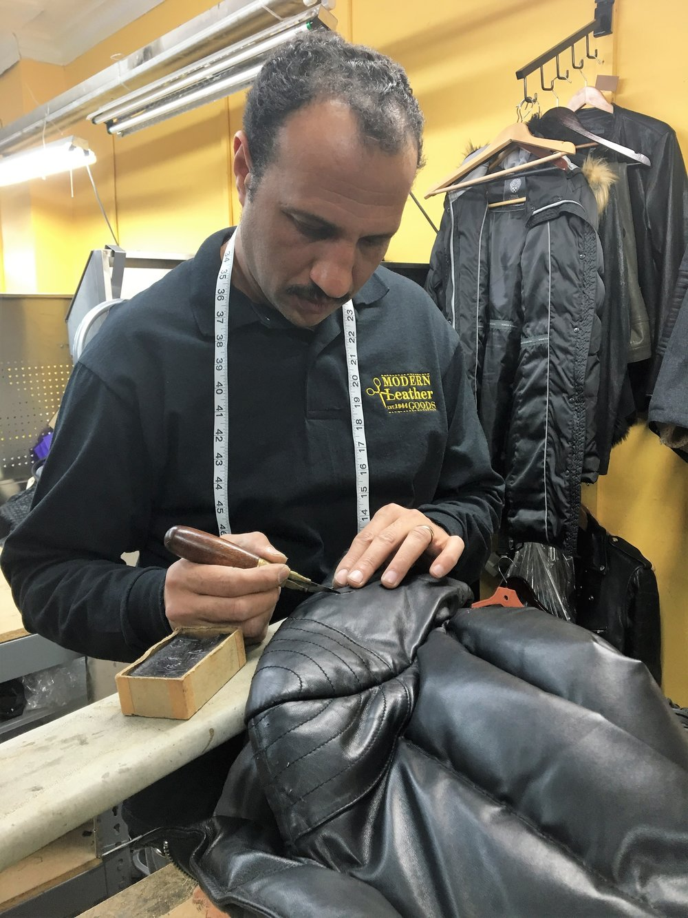 Our Highly-Skilled Tailor Mofeid