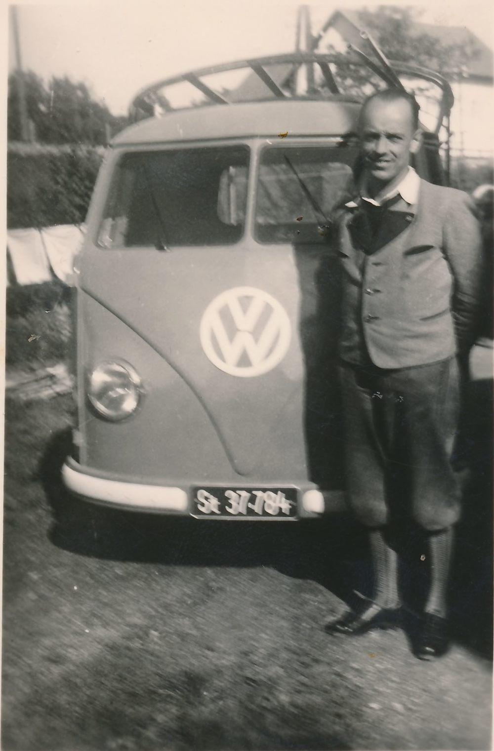 Das erste eigene Firmenauto.