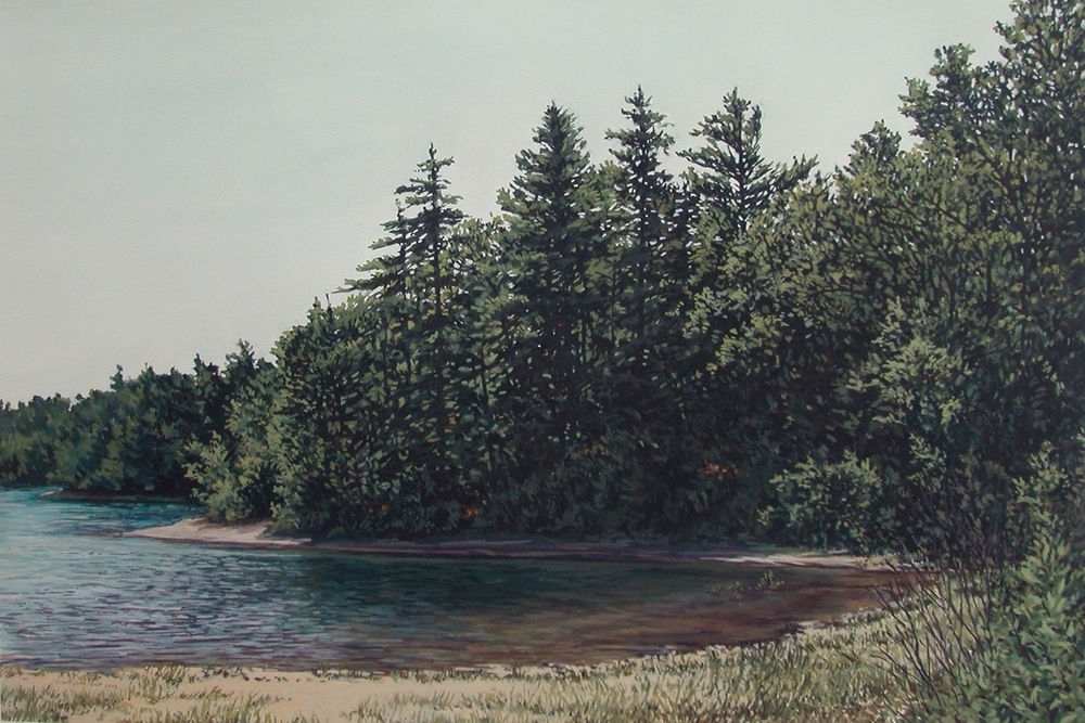 More Edges (Walden Pond) (SOLD)