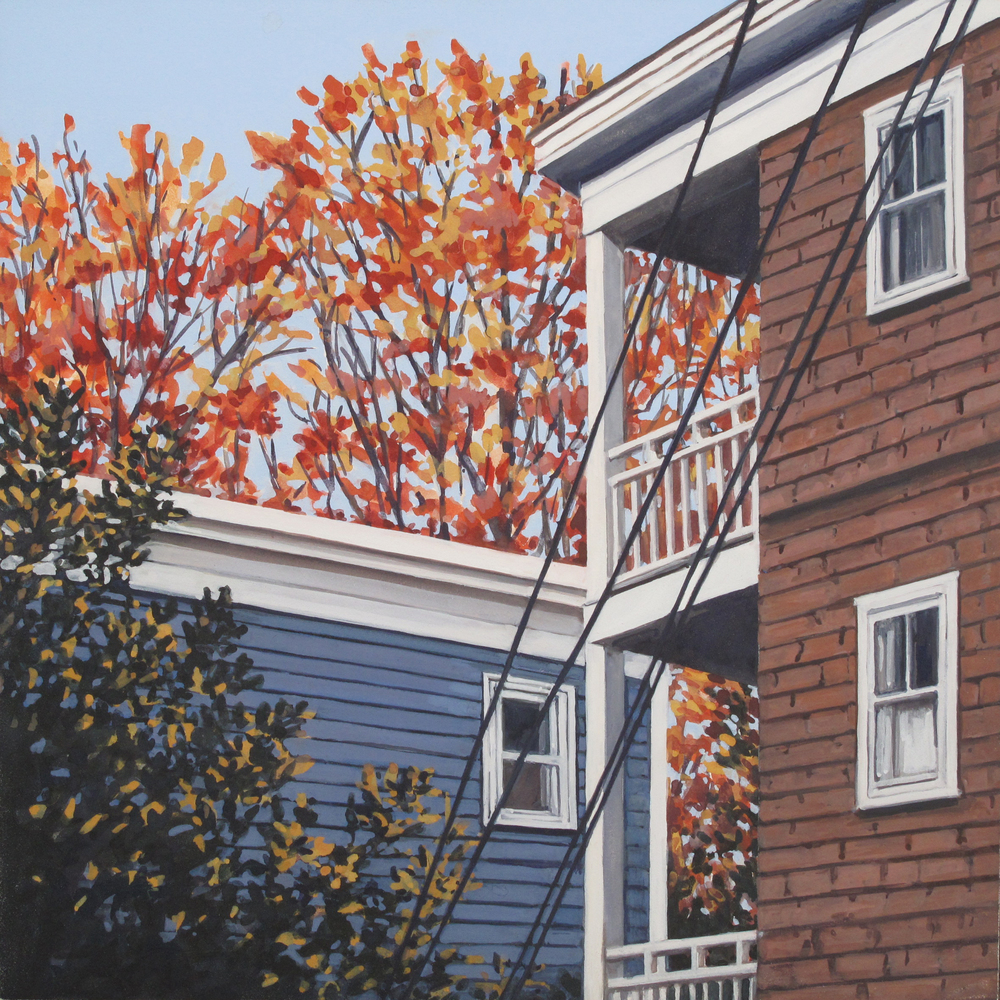 Neighborhood #1, 2016 (SOLD)