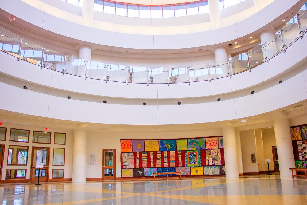 Tubman Museum Atrium