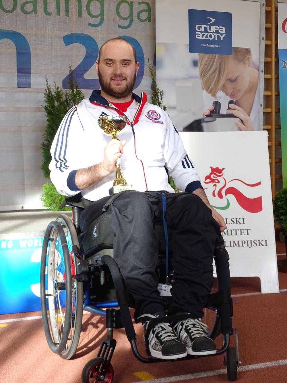 Ryan Cockbill, R4 Bronze medallist
