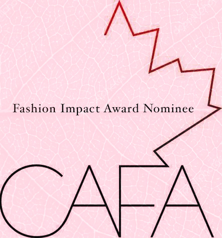 Honoured to to be recognized by The Canadian Art and Fashion Awards for my work in sustainability, alongside game-changers Wuxly, Brave Soles, Matt & Nat, Ron White Shoes, and With Love Darling, who are all working to shift the exploitative status quo, and prove that fashion can be a force for good.