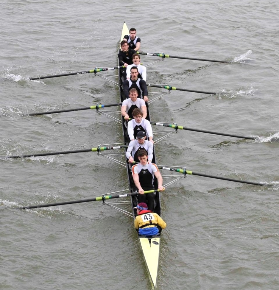 Mens 8+  |  Head of the River on River Thames  |  London, UK  |   March 2014