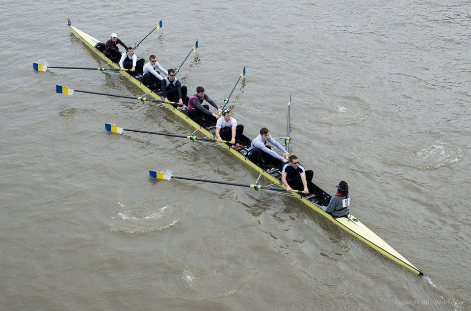 Mens Open 8+  |  Remenhem Cup Challenge on River Thames  |  London, UK  |   March 2014