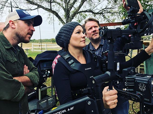 Working with a great crew! - - #steadicam #ronin #redcamera #dp #dop #setlife #film #cinematography #videoproduction #steadicamoperator photo cred: @prodigalsonfilms