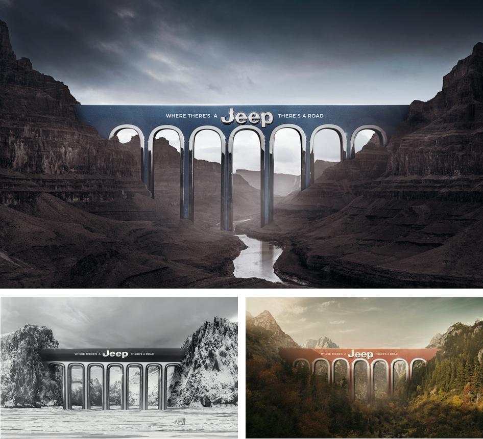 Prix Print libre : P. Etchebarne & B.Smith pour Jeep