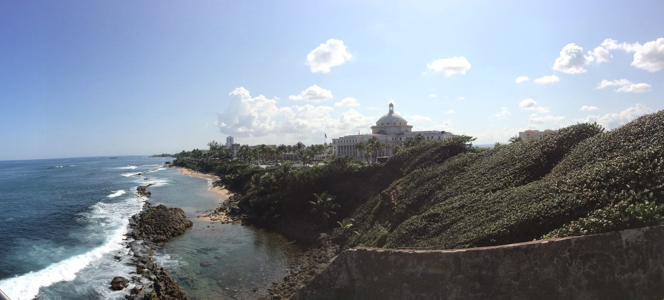 Puerto Rico - the view from the Castillo San Felipe del Morro
