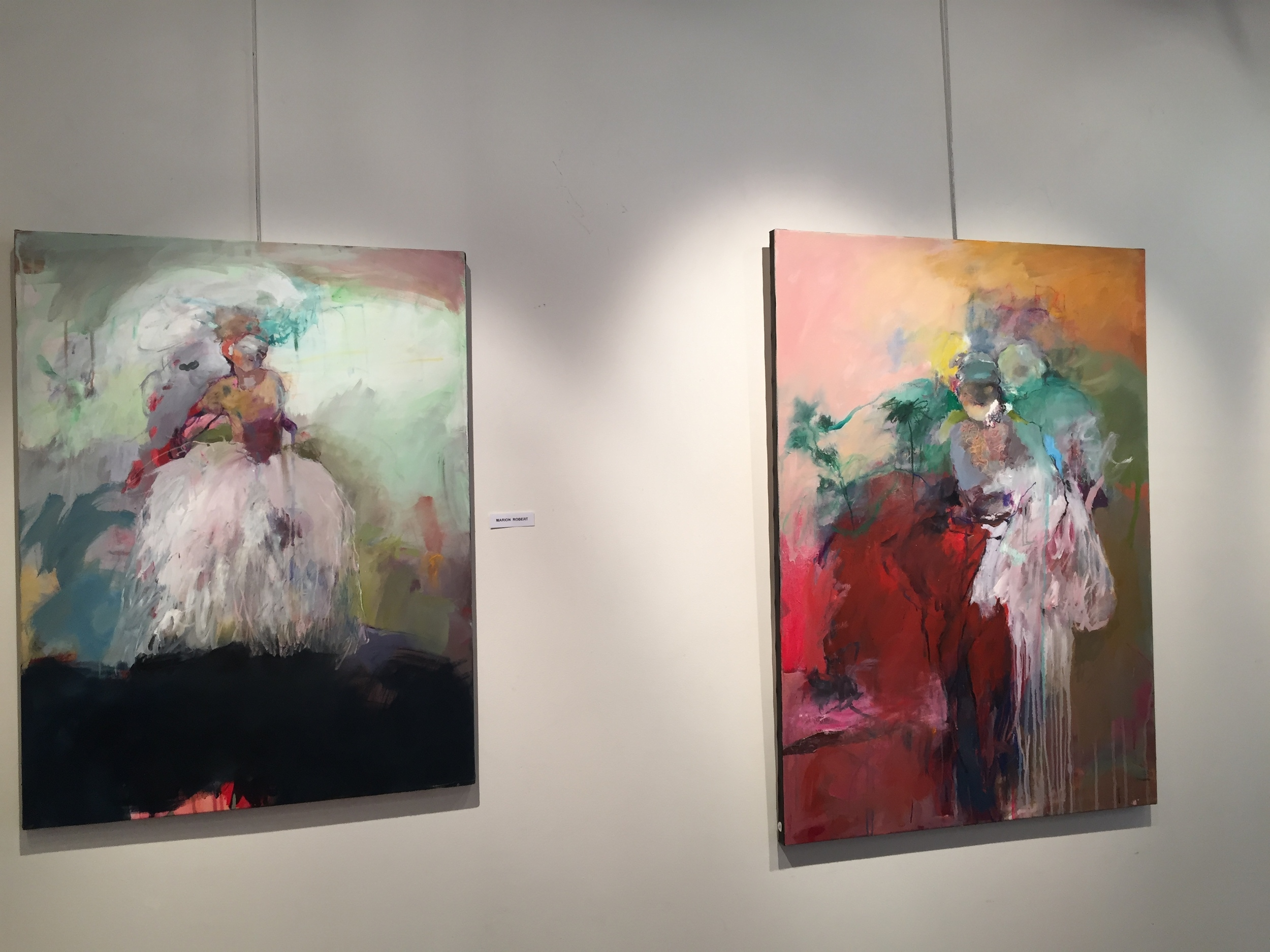 Parisian Art - we brought home the one on the left!