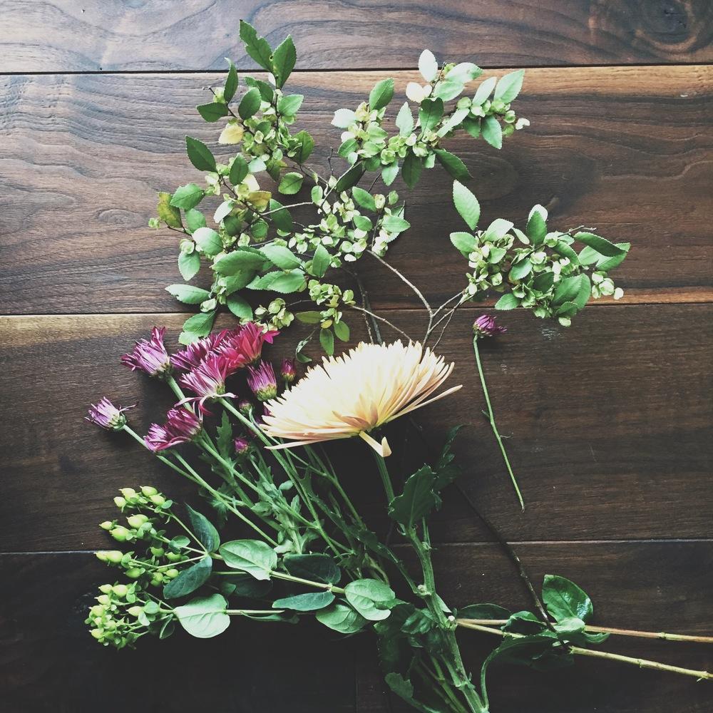Options for a fall flower arrangement