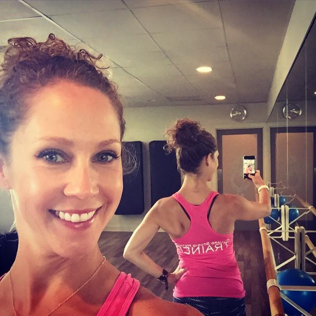 Trainer Tank Selfie :) - Lauren Bolshakov - three studios.net