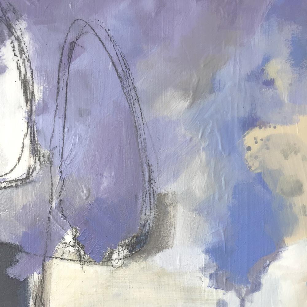 Abstract Art (detail of a painting) by Lauren Bolshakov - threestudios.net