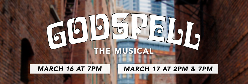GODSPELL IS SOLD OUT