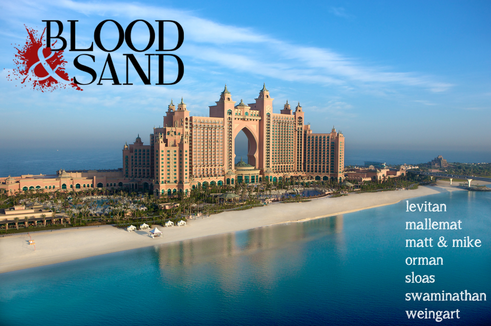 Blood and Sand - Resuscitation, Airway and Ultrasound in the Most Beautiful Climes in the World   Dec 6-10th, 2015.           Click here to register!