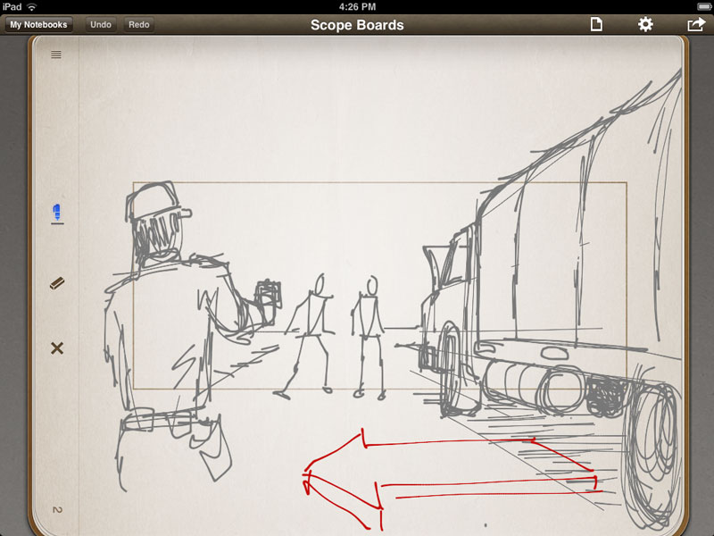 What i do with my ipad part 1 storyboarding prolost maxwellsz