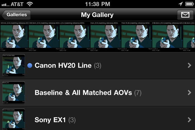 SYCM Gallery on iPhone