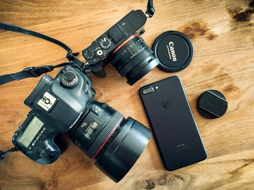 Three cameras that can make photos with blurry backgrounds.