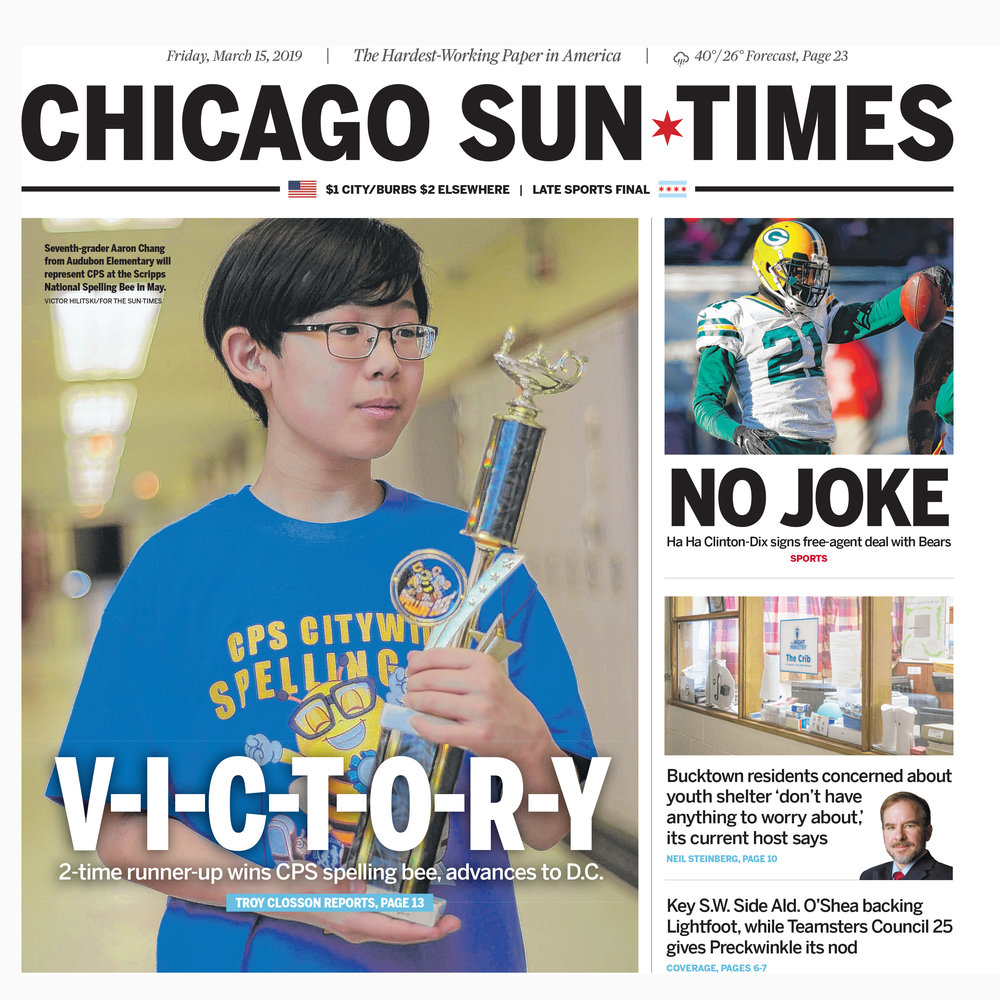 Chicago Sun-Times cover 2019