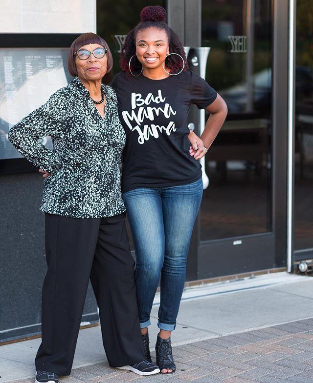 💁🏽 B A D M A M A J A M A  #lookather #81yearsyoung #Granny #GiGi #getitgirl #blackgirlsrock #birthdayshenanigans #shecute