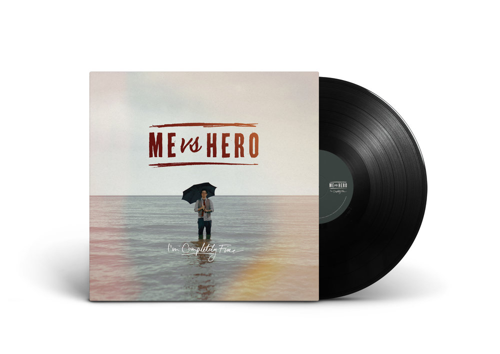ME VS HERO 'I'M COMPLETELY FINE'   (2014, BANQUET RECORDS)