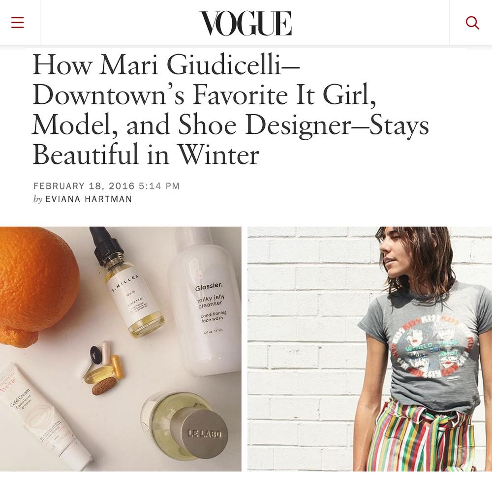 Vogue Magazine // February 2016