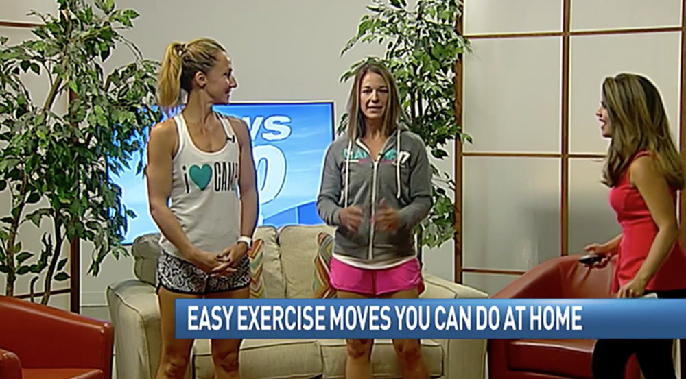 FITNESS AT HOME  - September 28th, 2017The Ladies from Camp 17 demonstrate easy exercise routines to do at home for anyone wanting to jump start their fitness routine.CLICK TO WATCH FULL STORY
