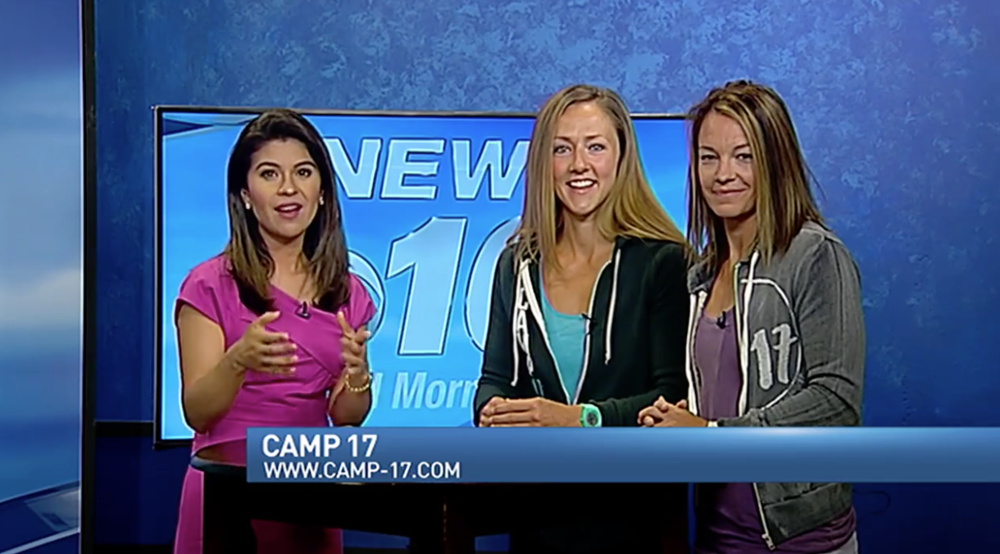 A WALK THROUGH CAMP17 - Channel 10 News anchor Stephanie Montano takes her viewers on the journey of Camp17 as she participates in Tribe VIII. CLICK TO WATCH PART ICLICK TO WATCH PART IICLICK TO WATCH PART IIICLICK TO WATCH PART IV