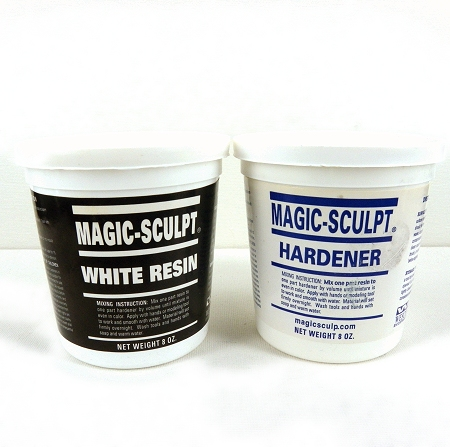 Magic Sculpt: two-part epoxy clay that can be used to sculpt a base for the jewelry piece, but is not necessary for electroforming.