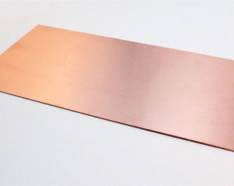 Copper annode: these two pieces of copper are placed vertically in the beaker on opposite sides.