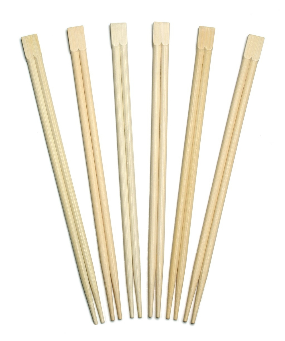 One pair of chopsticks that have not been separated: these are helpful for suspending your items to be electroformed in the middle of the beaker.