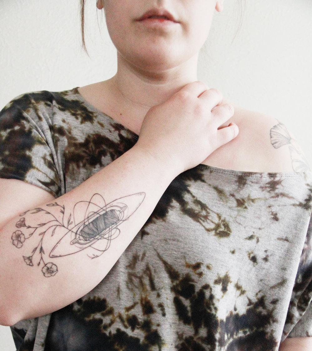 Tattoo by Lauren Miller