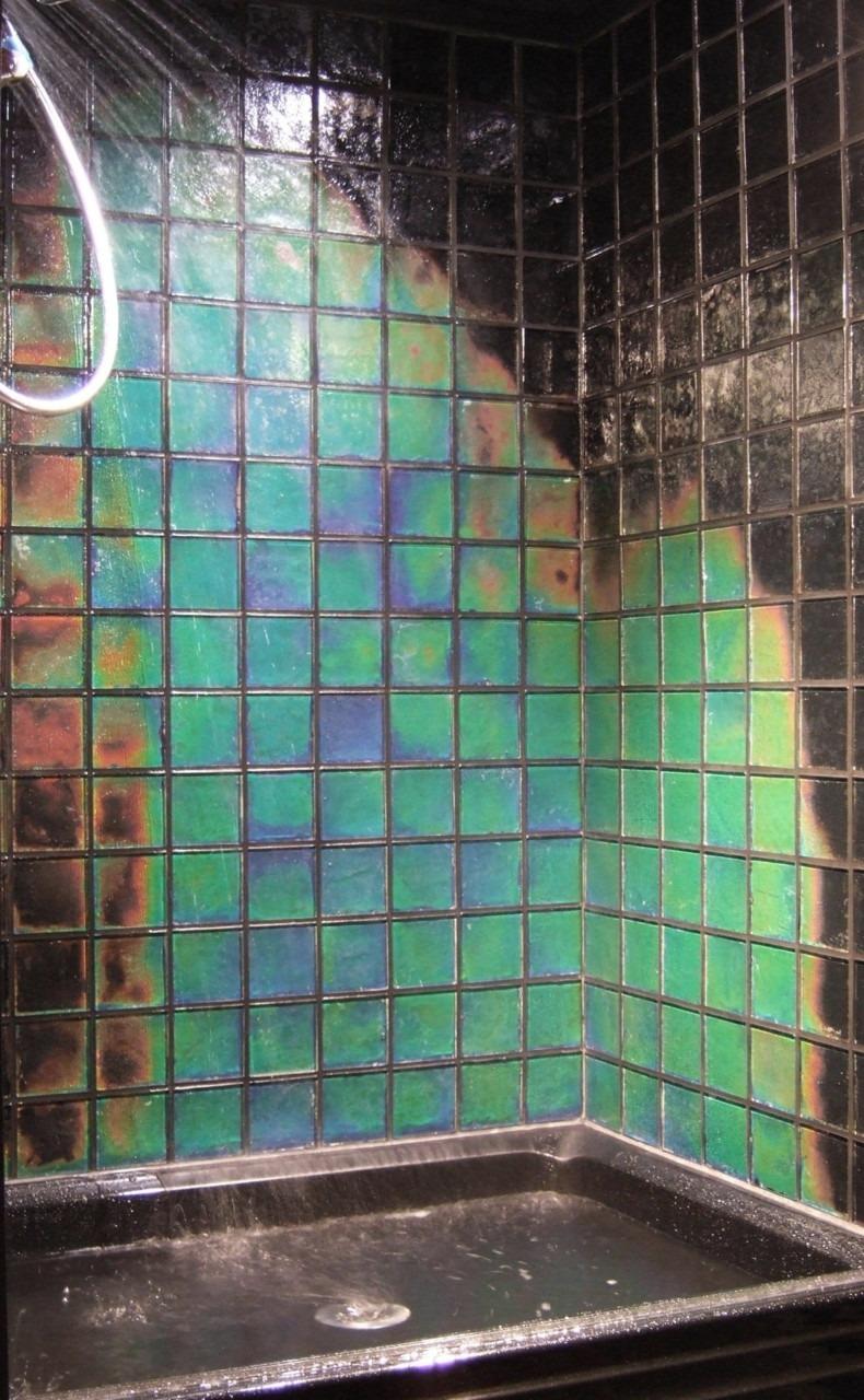 Temperature sensitive glass tiles. i want this