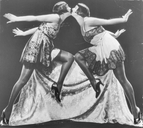 vintagemarlene :     the dolly sisters