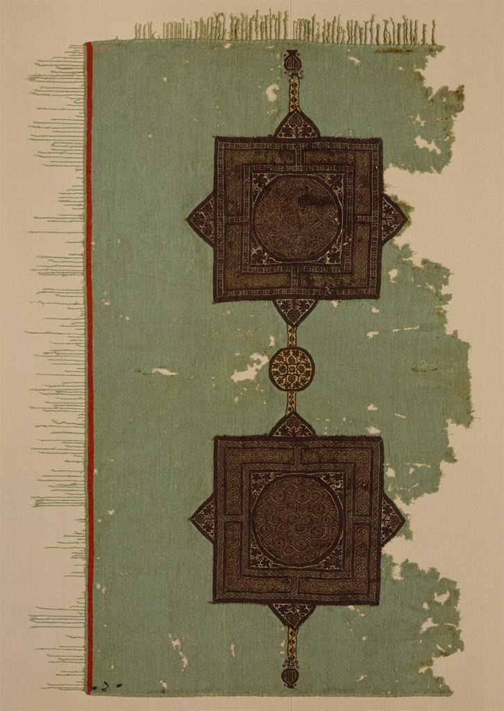 flosvitae :     Coptic textile fragment, 5th century, Egypt
