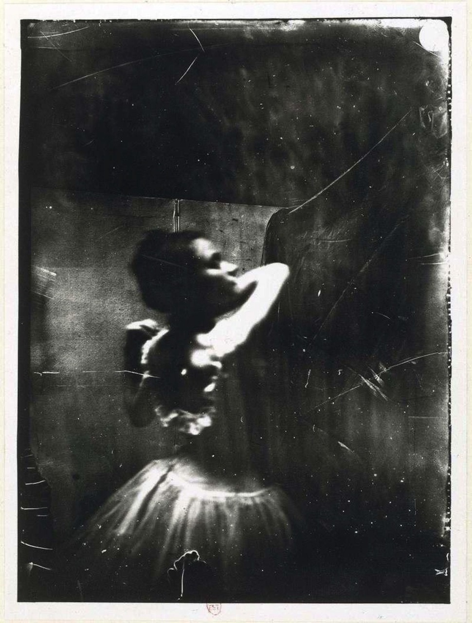 missfolly :      Edgar Degas: Dancer Adjusting Shoulder Strap, ca. 1900