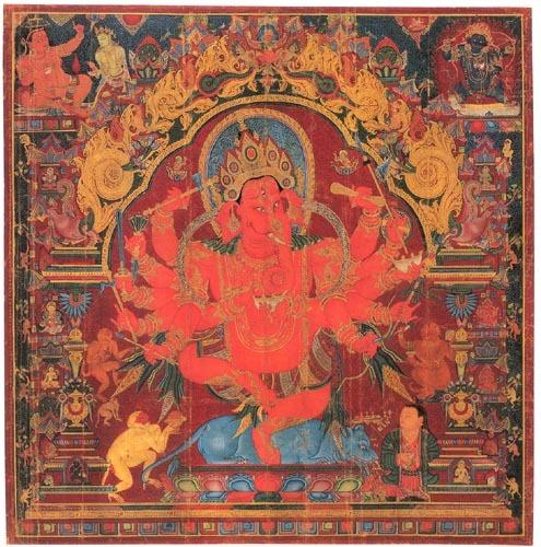 "got-glint: ""Dancing Ganesh"""