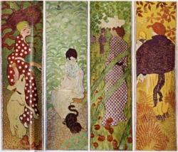 Pierre Bonnard, Women in the Garden (1892-1899)
