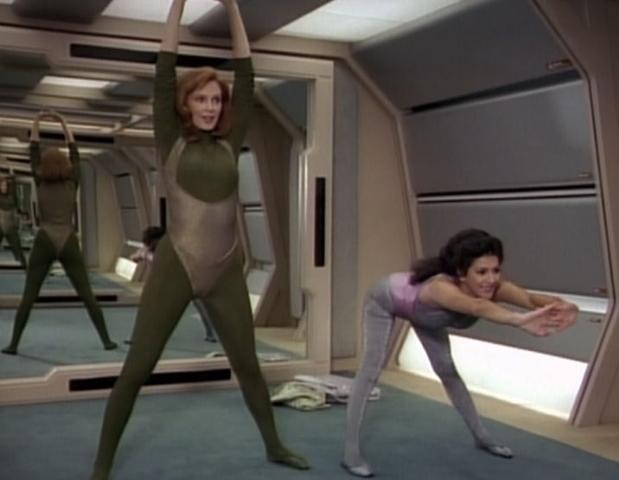 #metallicleotards From this Star Trek episode:  http://en.memory-alpha.org/wiki/The_Price_(episode)