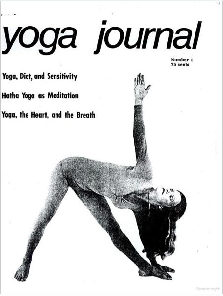 I wish Yoga Journal still looked like this. via elephant journal