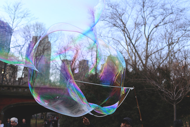 Bubbles in Central Park (6)