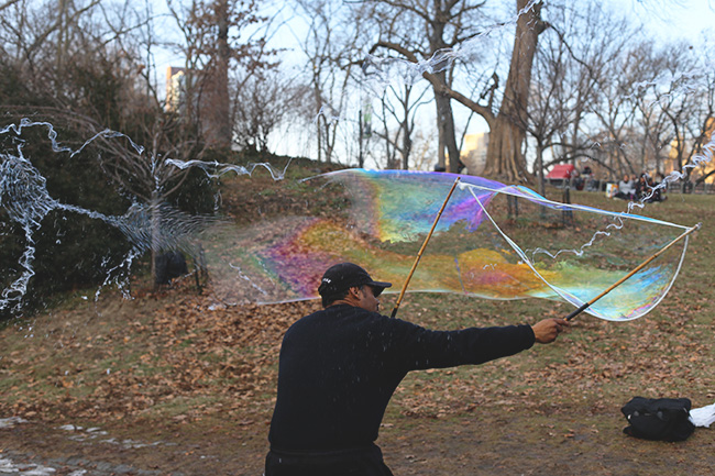 Bubbles in Central Park (7)