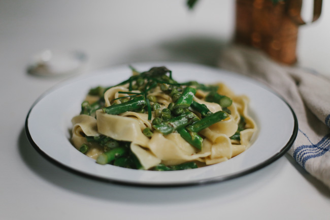 Spring Vegetable  Tagliatelle (9)