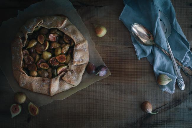 Fig and Orange Blossom Crostataa