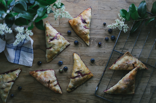 blueberry ginger handpies