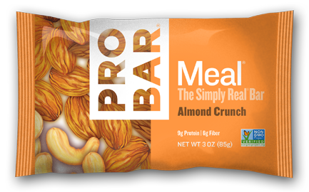 Almond Cruch Box Of 12 $40 Made especially for the almond lover in you. Almond Crunch boasts the satisfying taste of sweet almonds mixed with creamy cashews. This bar is truly nutty!