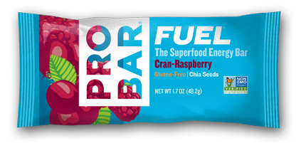 Cran-raspberry     Box Of 12 $18 A Cran-Raspberry FUEL™ bar's sun-ripened raspberry flavor, enhanced with the tangy, tart taste of cranberries, has been known to out-perform 4th of July fireworks.